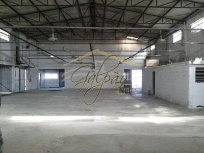 Galpão Industrial Para Venda E Locação, Jardim Flórida, Embu Das Artes - Ga2578. - Ga2578