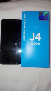 Teléfono Samsung Galaxy J4 Core, Color Negro