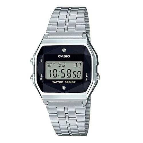 Relógio Casio Vintage Diamonds A159wad-1df