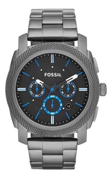Reloj Fossil Correa Metal Plateado Fs4931