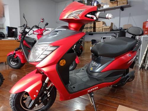 Sunra Scooter Moto Electrica Leo 2000w 0km Gel Motor Bosch M