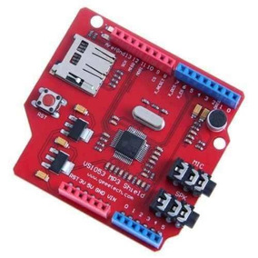 Promoção Arduino Mp3 Shield Vs1053b Shield Ogg Wma Aac Midi