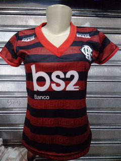 Camisa Flamengo Feminina Baby Look