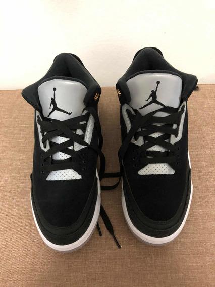 Tênis Air Jordan Iii Retro Tinker Black Cement