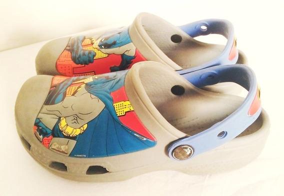 Crocs Marvel Batman Originales Talle 29-31
