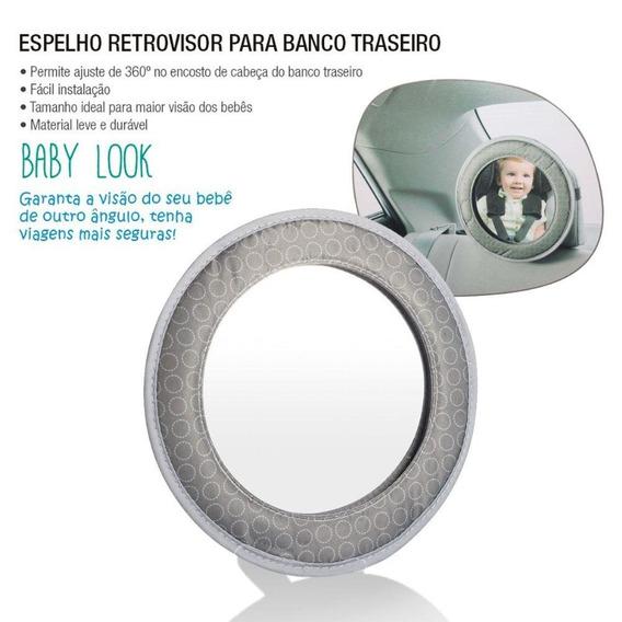 2 Retrovisore Banco Traseiro Bebê Multikids Bb181 Frete Free