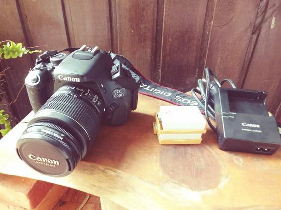 Câmera Cannon Profissional Eos 600d