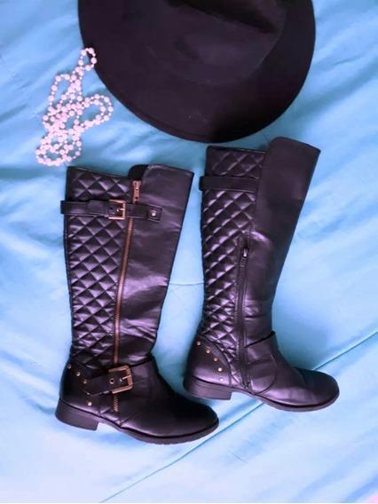 Botas Negras 25 Zapatos Dama Ropa Mujer Closet Botines Moda