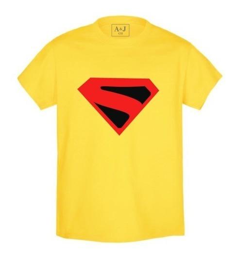 Playera Estampada Superhéroes Superman 13