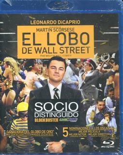 El Lobo De Wall Street, Pelicula En Blu-ray. Dicaprio