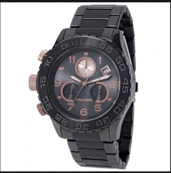 Relógio Mondaine Cronógrafo Royal Urbano Chumbo 78165lpmgsa4