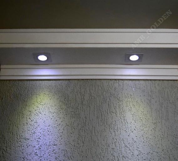 2 Metros Sanca De Isopor 30cm P/ Embutir Spot De Led