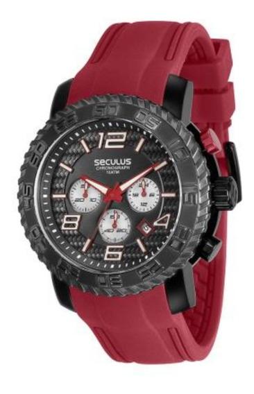 Relógio Masculino Esportivo Seculus Prime 28674gpsvsu2