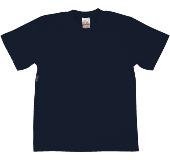 Camiseta Meia Manga Escolar Menino 100% Algodão Isensee
