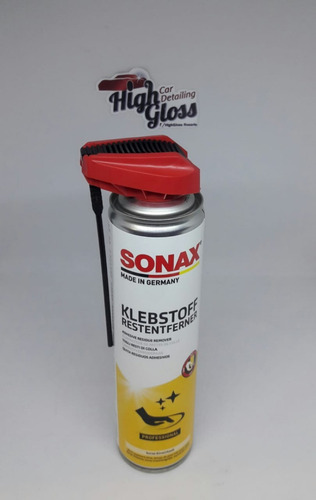 Imagen 1 de 2 de Sonax Quita Residuos Adhesivos Con Easyspray - Highgloss Ros