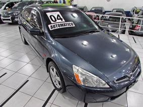 Honda Accord 3.0 V6 Ex 2004 Automatico + Completo + Teto
