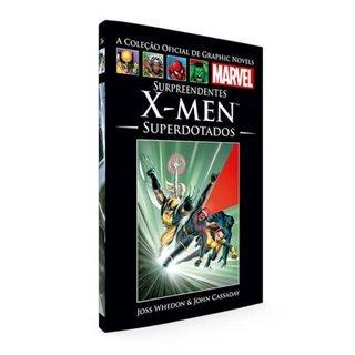 Graphic Novels Marvel- X-men Superdotados/pé Da Letr