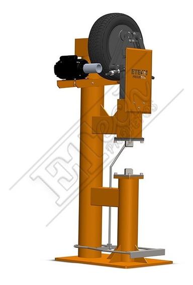 Martelete Power Hammer Pneus Cutelaria Facas Forja -impresso