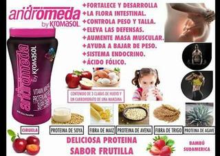 Andromeda Vitaminas . Minerales Proteinas Y Fibra
