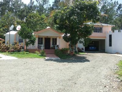Terreno Con 3 Casas De Venta En Buena Vista Jarabacoa