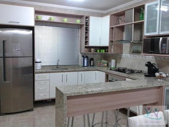 Casa Para Venda Em Mogi Das Cruzes, Vila Suíssa, 3 Dormitórios, 1 Suíte, 2 Banheiros, 5 Vagas - Ca0345_2-800871