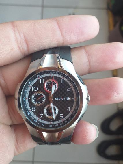 Relógio Sector Original Zerado Pouco Uso