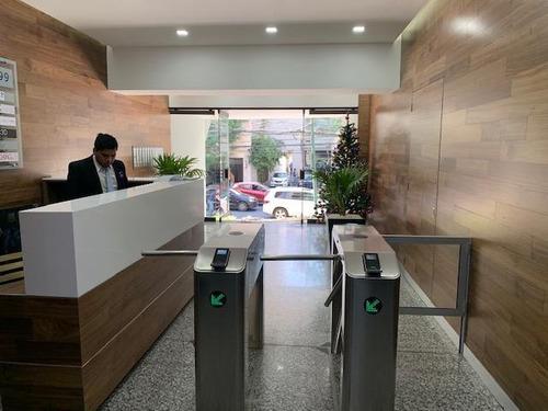 Imagen 1 de 14 de Polanco 300m2, Vigilancia, Totalmente Acondicionada, Metro C