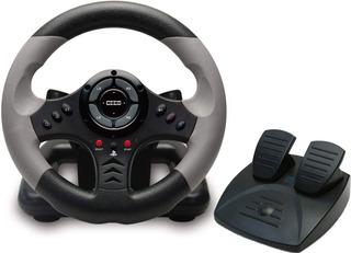 Volante Y Controlador De Pedal Para Playstation 3