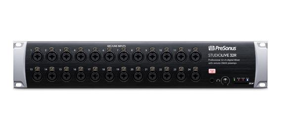 Mixer Digital De Rack Presonus Studiolive 32r Lacrado!