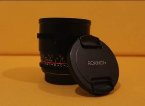 Rokinon 85mm 1.5 Cine (lente P/ Canon)