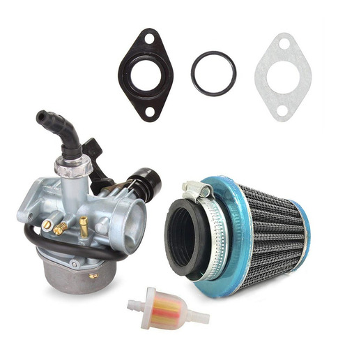 Imagen 1 de 6 de Carburador Pz19 Carb Para 50 70 90 110cc Atv Quad 4 Wheeler