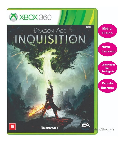 Dragon Age Inquisition Midia Fisica Novo Lacrado Original