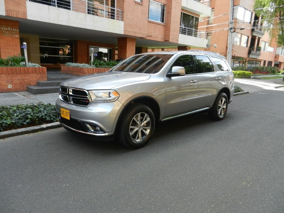 Dodge Durango Limited Plus, 2016, Como Nueva !!!