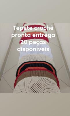 Tapete De Crochê Pronta Entrega