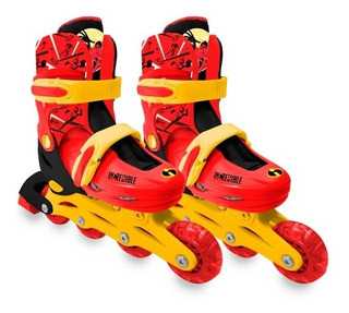 Patines Disney Los Increibles 28-30+ Camion Cat