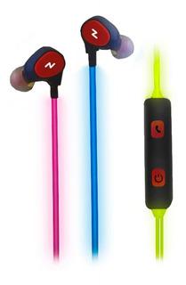 Auricular Glow Noga Led Ng-gl781 Manos Libres C/ Mic