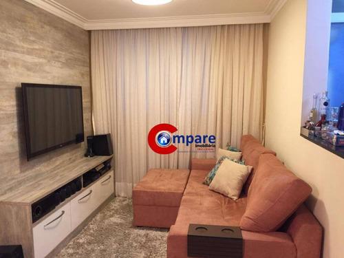 Imagem 1 de 9 de Apartamento À Venda, 45 M² Por R$ 245.000,00 - Vila Rio De Janeiro - Guarulhos/sp - Ap6960