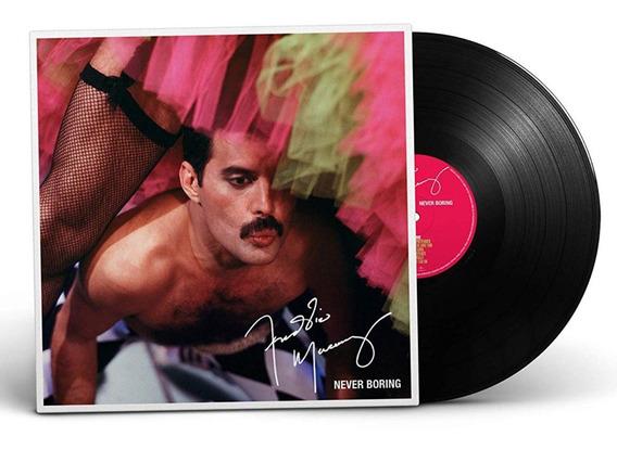 Vinilo Freddie Mercury Never Boring Lp 2019