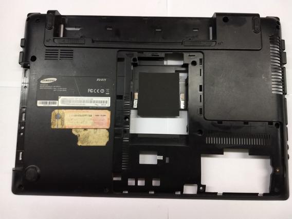 Carcaça Base Inferior Samsung Rv411 Rv415 Rv419 Rv420
