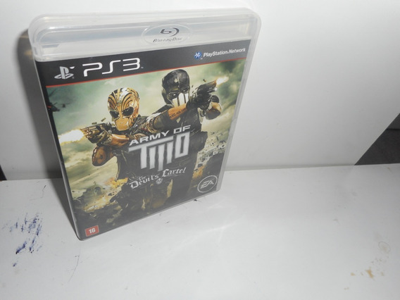 Army Of Two The Devil´s Cartel Ps3 Mídia Física