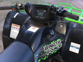 Kawasaki 650cc Brute Force Impecable!! Poco Uso/con Trailer