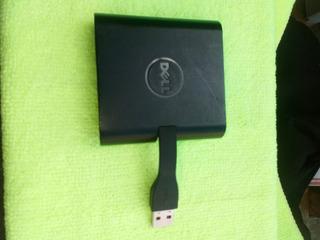 Adaptador Dell - Usb 3.0 Para Hdmi/vga/ethernet/usb 2.0