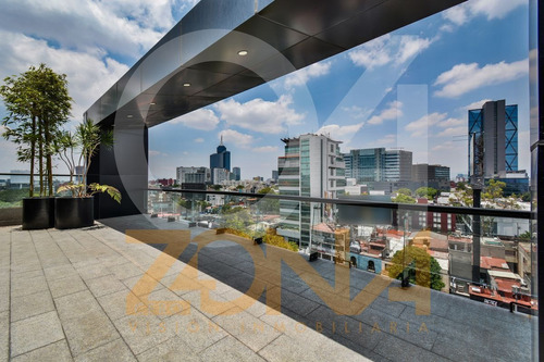 Imagen 1 de 10 de Oficina En Venta De 201 Mts2 En Colonia Escandón Con Terraza