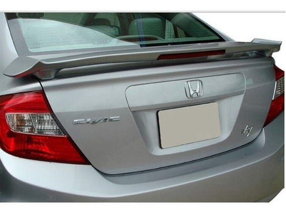 Aerofólio C/ Brake Light Hauer | Honda Civic 12/16 Hd028