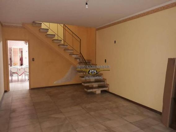 Sobrado Com 3 Dormitórios À Venda, 137 M² Por R$ 640.000,00 - Tatuapé - São Paulo/sp - So1386