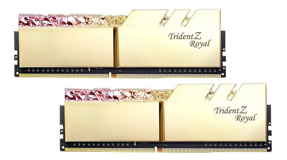 Memoria Ram G.skill Trident Z Royal 16gb 2x8gb 3000mhz Ddr4