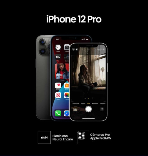 iPhone 12 Pro 256gb Nuevo Caja Sellada Color Negro Lo Mejor!