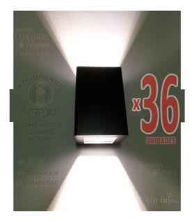 Iluminacion Exterior Artefacto De Pared Bidireccional X36un