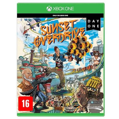 Jogo Sunset Overdrive - Xbox One Mídia Física