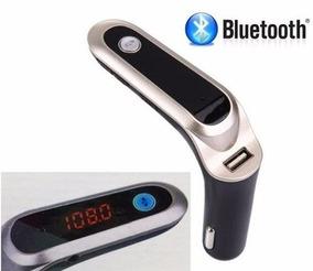 Transmissor Fm Veicular Bluetooth Usb/sd/mp3 Com Lcd
